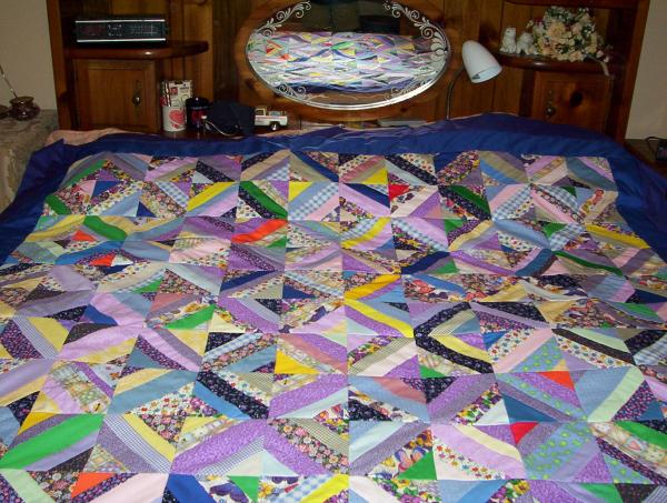 Scrappy String Quilt from TN