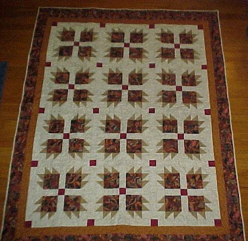 Quilting Patterns And Notions : QUILTING PATTERNS BEARS PAW FREE Quilt Pattern